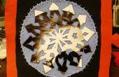 Carte de flocon de neige