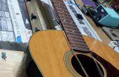 Simuler la Tension des cordes guitare frette travail