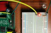 Clignotement d'une LED avec framboise pi