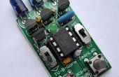 Batterie enregistrement TV-B-Gone avec sélecteurs de région/gamme