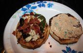 Hamburger de dinde Tex-Mex Jalapeno farcis au fromage bacon et 2