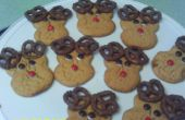 Comment faire de beurre d'arachide Rudolph les Cookies de Rennes