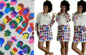 La joie de peindre une robe bricolage