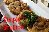 Comment faire simple scallion pancakes !