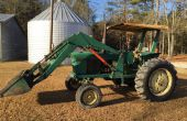 Début John Deere 3020 Powershift Front End Chargeuse hydraulique re-plomberie