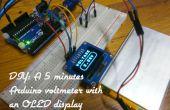 DIY : Un 5 Minutes voltmètre Arduino avec un écran OLED