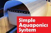 Simple inondation système aquaponique et vidange