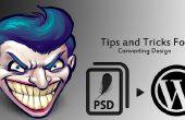 Trucs et astuces pour conversion conception PSD vers Wordpress E-commerce