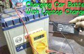 Chargez votre batterie de voiture avec chargeur ordinateur portable !
