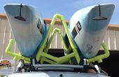 Transporteur/barres de toit PVC Kayak