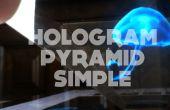 Hologramme bricolage pyramide