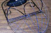 Panier de fil pour une plante suspendu