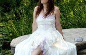 Robe de mariée rêve upcycled & accessoires