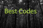Meilleurs Codes