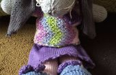 « Mabel » un lapin tricoté doux pour les petites mains (ou grandes mains)