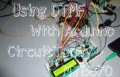 En utilisant MT8870 DTMF décodeur avec Arduino