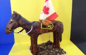 Comment faire poney 3D (gâteau de cheval)