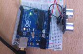 Arduino télémètre tutoriel