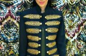 Veste militaire couture bricolage