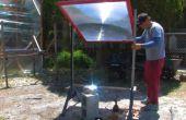 3D en fibre de verre d'art optique jaillit d'une lentille de Fresnel