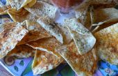 Infusé aux herbes Gourmet Tortilla Chips