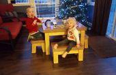 La Table des enfants béton Un-flippable (enseignements sous forme de fabrication et remet d'échecs)