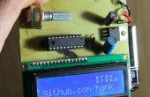 AVR LCD Namebadge