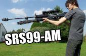 En bois Halo Reach réplique fusil (Non-tir Prop)
