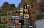Comment faire une pièce cachée dans Minecraft PE