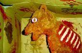 Prop de démon chien Halloween