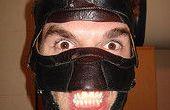 AWSOME SUPER BAD-ASS LUCHADOR WRESTLING masque (à partir de vieilles chaussures)