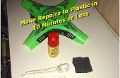 10 minute Plastic Repair Kit ~ McGyver Style