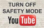 Désactiver le mode sécurité sur Youtube avec 2 méthodes