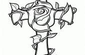 Fleur en bois croix avec la scie à chantourner