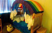 Faire une voûte de l'arc-en-ciel pour votre chambre d'enfant