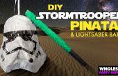 BRICOLAGE Stormtrooper Pinata et Bat de sabre laser Star Wars
