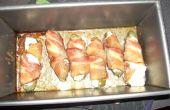 Enveloppé de bacon Poppers Jalapeno