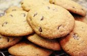 Biscuits sans gluten au chocolat gratuit