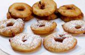 Rondelles de beignet de pomme