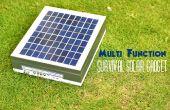 Gadget solaire multifonction survie sur un Budget