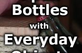 Six façons d'ouvrir les bouteilles avec les objets du quotidien