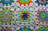 Crochet Sunburst Granny Square