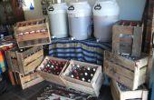 Caisses de bière Home Brew de palettes !