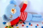 Ours en peluche Sleepy Amigurumi gratuit Crochet Pattern