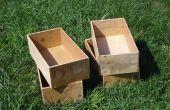 La boîte de pied cube - une autre Solution de stockage