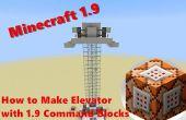 Comment faire l'ascenseur avec des blocs de commande Minecraft 1.9