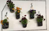 Mur floral ou fruité d'intérieur
