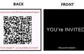 BRICOLAGE sur Invitations moderne: à l'aide de cartes de visite et QR Codes