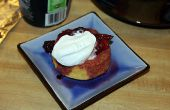10 minute Shortcake compote de Berry