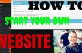« Comment créer votre propre site » rapide et facile